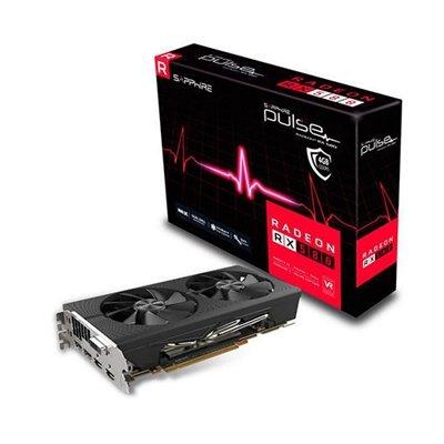Sapphire Pulse Radeon RX 580 4GD5 Radeon RX 580 4GB GDDR5 - Tarjeta gráfica (Radeon RX 580, 4 GB, GDDR5, 256 bit, 5120 x 2880 Pixeles, PCI Express x16 2.0)