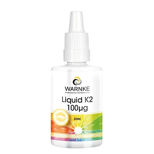 Vitamina K2 líquida de Productos para salud Warnke - 100μg – 30ml