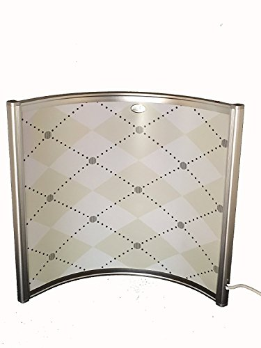 Tisch Fern Infrarotheizung 300 Watt (300 Watt, Weiß)