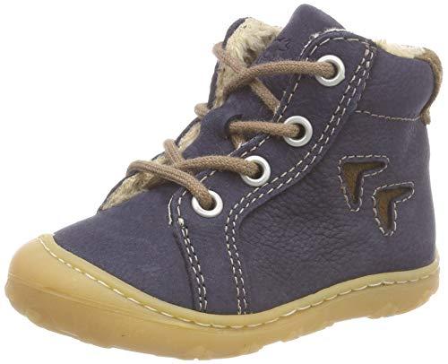 RICOSTA Baby Jungen Georgie Sneaker, Blau (See 187), 19 EU