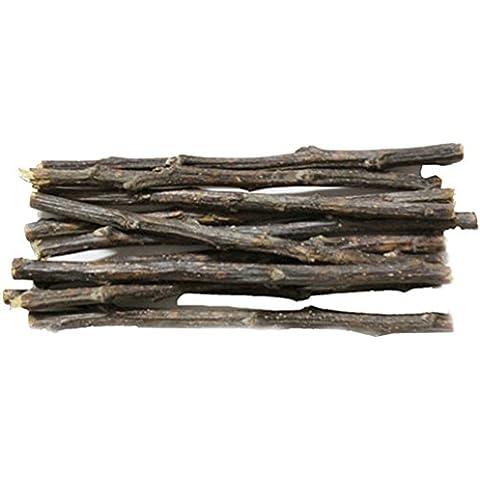 emours mascota pequeña de madera de Apple Orchard Masticar de incienso Alimento para hamster cobayas chinchillas y otros pequeños animales,