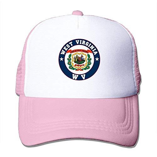 lijied Flag of West Virginia State WV Adjustable Baseball Mesh Hat -