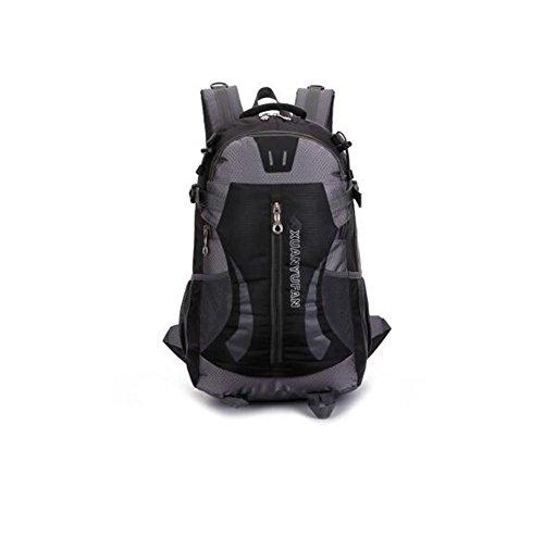 Wmshpeds Grande capacità 40L outdoor coppia pacchetto impermeabile zaino borsa di arrampicata borsa da viaggio C