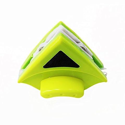 Baffect® Startseite Double Side Magnetic Window Cleaner Ultra Strong Beide Seiten-Glaswischer Werkzeuge Oberflächenreinigungsbürste mit ergonomischem Griff-Design für Hochhaus und Autoglasfenster Dicke 8-15mm