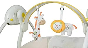 NWYJR Infant Rocker Newborn Suitable Vibration Electric Timing Swing Bouncer Baby rocker by NWYJR