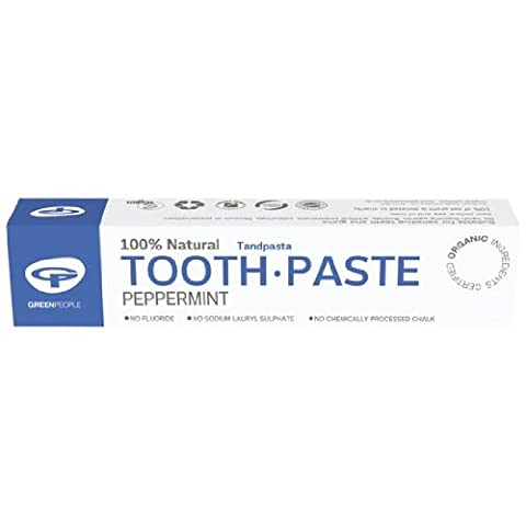 Green People Organic Peppermint Toothpaste TRIPLE pack