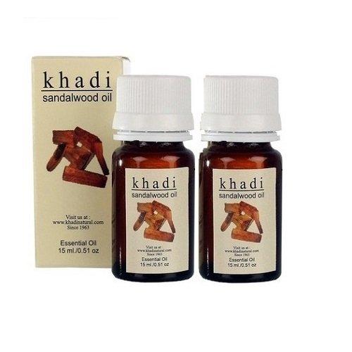 Khadi sandali olio essenziale-Confezione da 2-30ml