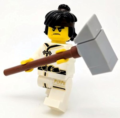 Lego The Ninjago Movie Figur - Cole im Wu-Cru Anzug Spinjitzu Training aus Buch (Lego Batman-anzüge Minifiguren)