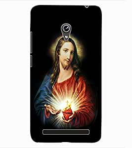 ColourCraft Lord Jesus Design Back Case Cover for ASUS ZENFONE 6 A600CG