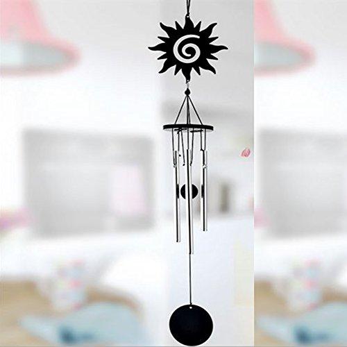Gezichta wind bell, metallo multi-tube sonaglio a vento, artigianato manuale a vento anello ciondolo decorazione da appendere, per porte, finestre, stanze, cortili, alberi, garden, sun, taglia libera