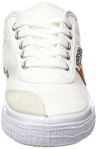 Kawasaki Holly Nuclear, Baskets Basses mixte adulte Blanc - Weiß (White, 01)