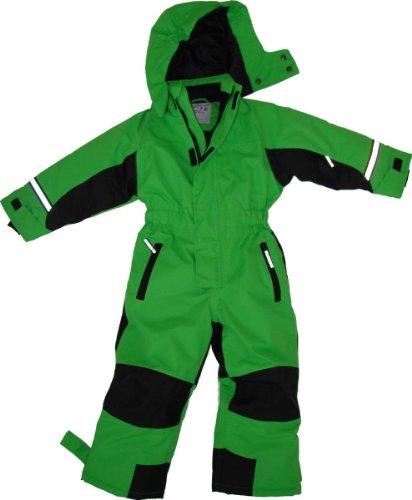 Maylynn outdoor - tuta da sci intera in softshell - verde - 116-122 cm