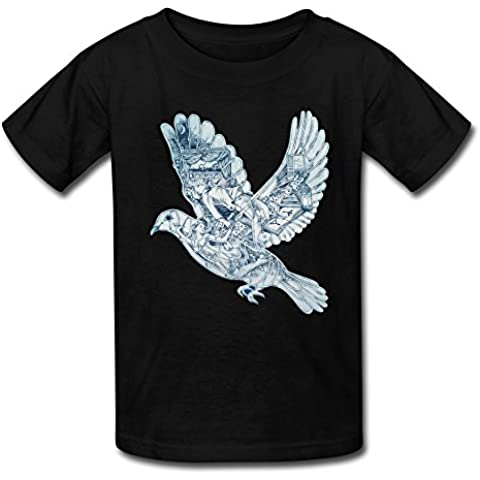 Gaowee Youth Boys'/Girls' Ghost Stories Coldplay T-Shirt - BlackYILIAX04509XXXX-L