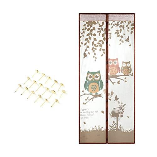 73JohnPol Sommer Magnet Moskitonetz Magnetische Anti Moskito Vorhänge Tür Vorhänge Verhindern Moskito Küche Portiere Bildschirm Vorhang (Vorhang-bildschirm)