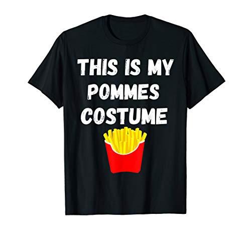 Karneval Kostüm Pommes - This Is My Pommes Kostüm Frites