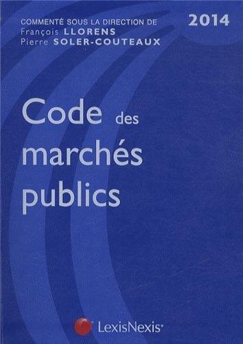 Code des marchés publics 2014