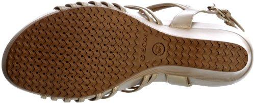 Geox, Damen Klassische Sandalen Natural