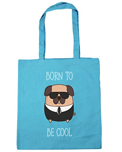 Hippowarehouse ,  Damen Strandtasche, blau, 10661-DTG-TOTE-Surf Blue (Springer English Tote Spaniel Bag)