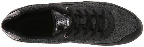 Nero a Ecco 55227 Alto Collo BLACK BUFFED Schwarz SILVER Donna Cs14 Sneaker BLACK Ladies 00rfqt