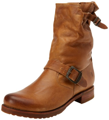 frye-veronica-shortie-donna-beige-pelle-stivali-scarpe-taglia-eu-375