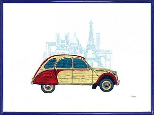Macchine D'Epoca Stampa D'Arte e Cornice (Plastica) usato  Spedito ovunque in Italia