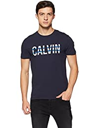 a8b6dc5aacee Amazon.in  Calvin Klein - T-Shirts   Polos   Men  Clothing   Accessories