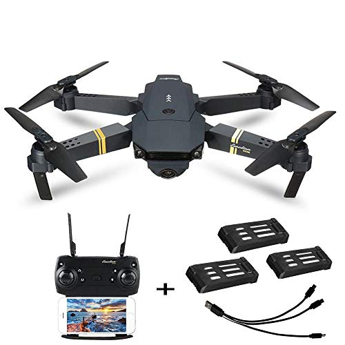 Holatee Helicopter E58 2.0MP 720P WiFi Camera FPV Drone Folding Selfie Pocket RC Quadcopter Drone