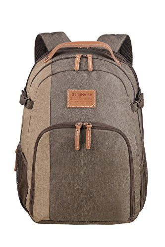 SAMSONITE Rewind Natural - Laptop Backpack Large Expandable, 29/34L - 0.7 KG Rucksack, 45 cm, 29 L, Rock -