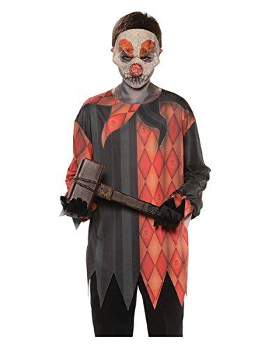 Böser Clown Kinder-Shirt für Halloween L