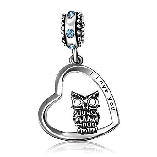 KunBead Jewelry Damen - Copper Platinum Kupfer (Charms Authentisch Baumeln Pandora)