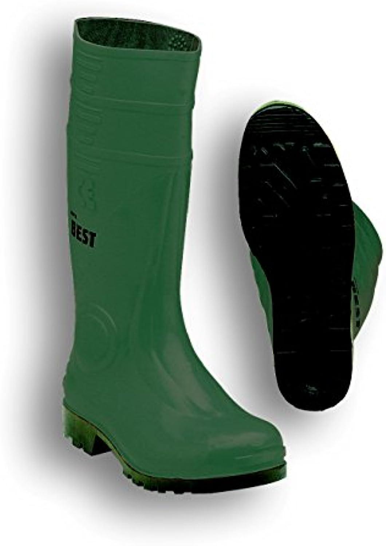 Seba 10 CE V Bota, PVC, Verde/Negro S5, talla 41