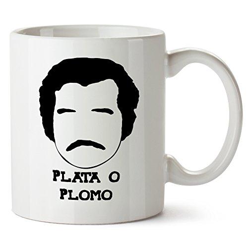 Pablo Escobar Mug Plata O Plomo
