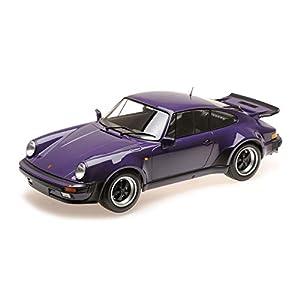Minichamps 125066120 Porsche 911 Turbo, Color Lila 1:12 1977