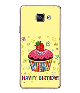 PrintVisa Kids Birthday Party High Gloss Designer Back Case Cover for Samsung Galaxy A5 (6) 2016 :: Samsung Galaxy A5 2016 Duos :: Samsung Galaxy A5 2016 A510F A510M A510Fd A5100 A510Y :: Samsung Galaxy A5 A510 2016 Edition