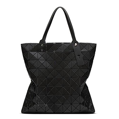 Geometrie geteilten gemeinsamen Matt Draht Handtaschen Umhängetasche Frauen berühmter Marken Messenger Leder Crossbody Beutel für Designer schwarz 20 cmXMax LengthX 30 cm