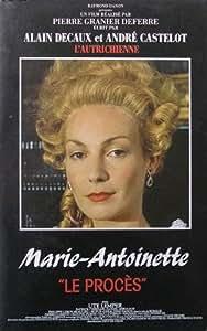 Marie Antoinette Le Proces [VHS]