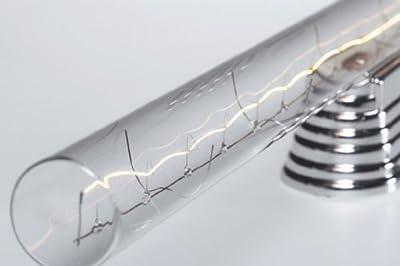 SLV Linienlampe, 35W, Sockel S14d mittig gesockelt matt von SLV auf Lampenhans.de