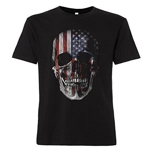 ShirtWorld - Totenkopf USA - T-Shirt 3XL (Bush T-shirts)
