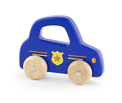 Viga Toys - 50329 - Véhicule Miniature - Modèle Simple - Voiture De Police À Poignée