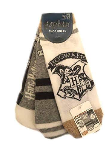 3 Pair Pack Socks Harry Potter Ladies Girls UK Size 4-8 Eur 37-42 USA 6-10