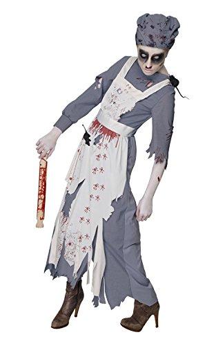 Rubie 's 810505Rubie 's Offizielles Frau ratgore Halloween Maid Zombie Kostüm Erwachsene Damen Small (Kostüm Zombie Frau)