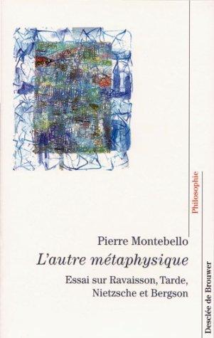 L'Autre métaphysique par Pierre Montebello