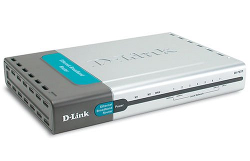 Gebraucht, D-Link DI-707P DSL Gateway Router, 7 x 10/100 Mbit gebraucht kaufen  Wird an jeden Ort in Deutschland