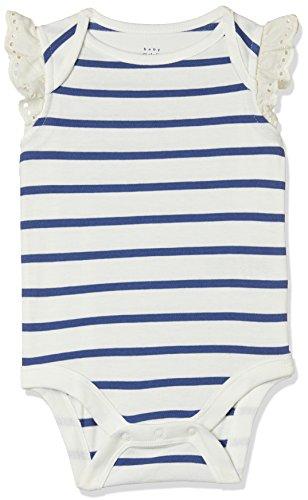GAP Baby Girls' Bodysuit (23070624506_Ivory Frost_0-3M)