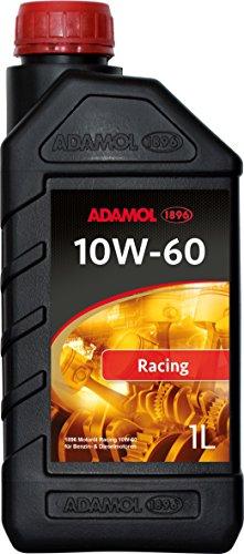 ADAMOL 1896 01180540 Racing Cartechnic 558.58.31 Huile Moteur 10 W 60, 1 L