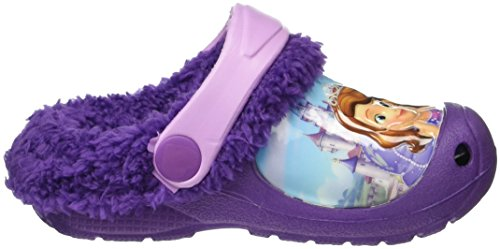 Sofia die Erste Girls Kids Clog Sandals and Mules, Zoccoli Bambina Viola (Violett (PURPLE LILAC Ppl))