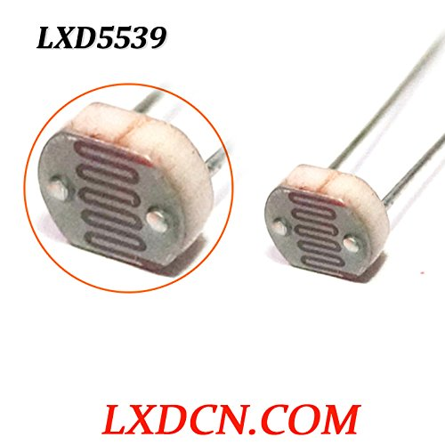photoresistor lxd5539, Widerstand: 5mohm, 5: 30–50kOhm LDR, light-dependent/, 0