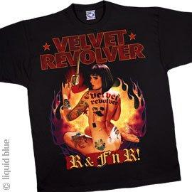T-Shirts Homme Velvet Revolver R N F N R Extra Large - import direct USA