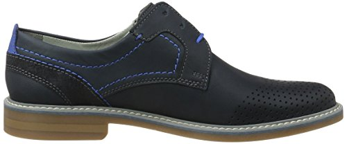 FRETZ men Herren Locarno Derby Blau (Blue)