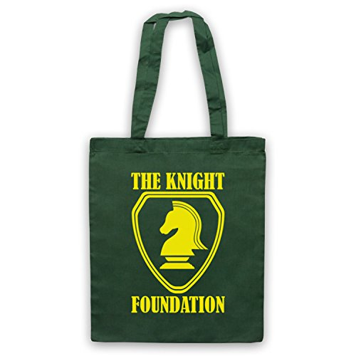 Inspiriert durch Knight Rider Knight Foundation Inoffiziell Umhangetaschen Dunkelgrun